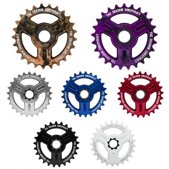 TSC Motus Spline Drive sprockets colors