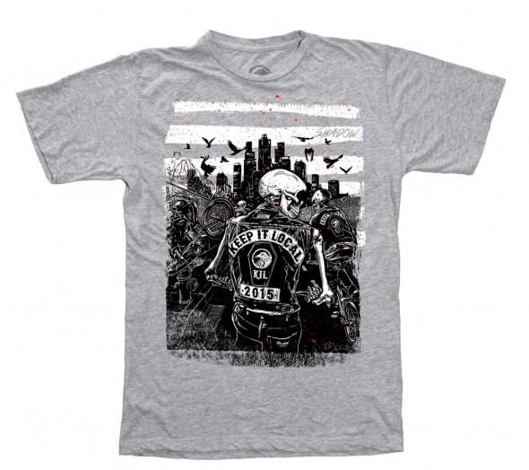 TSC KIL Tour 2015 t shirt GREY