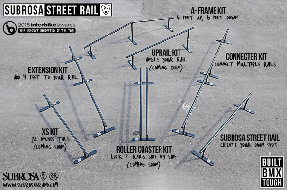 Subrosa Street Rail options